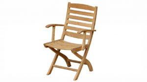 Maluku Folding Arm Chair